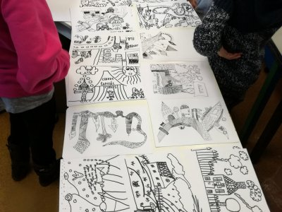 Tudy z nudy: 1. exkurze – výtvarný workshop