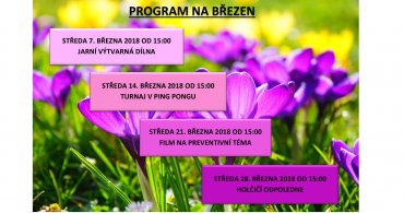 Program NZDM EMKO v březnu