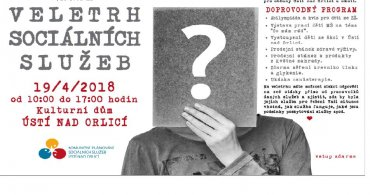 Veletrh sociálních služeb v Ústí nad Orlicí