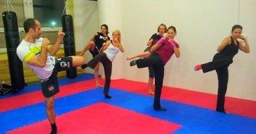 Tudy z nudy: 2. exkurze - kickbox v klubu Falcon