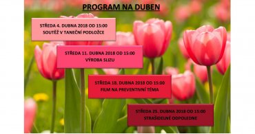 Program NZDM EMKO v dubnu