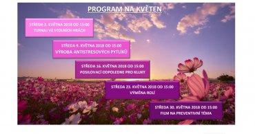 Program NZDM EMKO na měsíc květen