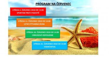 Program NZDM EMKO na měsíc červenec