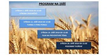 Program NZDM EMKO na měsíc září