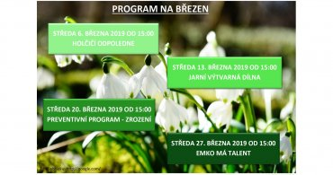 Měsíční program NZDM - EMKO