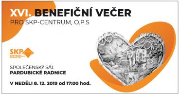 Benefiční večer pro SKP-CENTRUM 2019