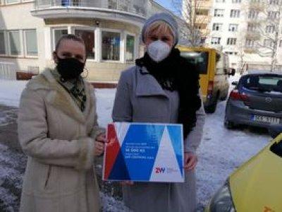 Společnost 2VV s.r.o. podpořila Ošetřovatelskou službu