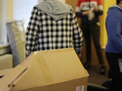 Společné prostory Domu na půli cesty dostaly nový kabátek
