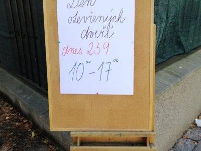 Den otevřených dveří ve Free klubu